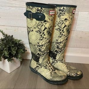 Special Edition Floral HUNTER boots